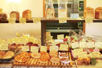 地元で届ける 美味しいパンの味
